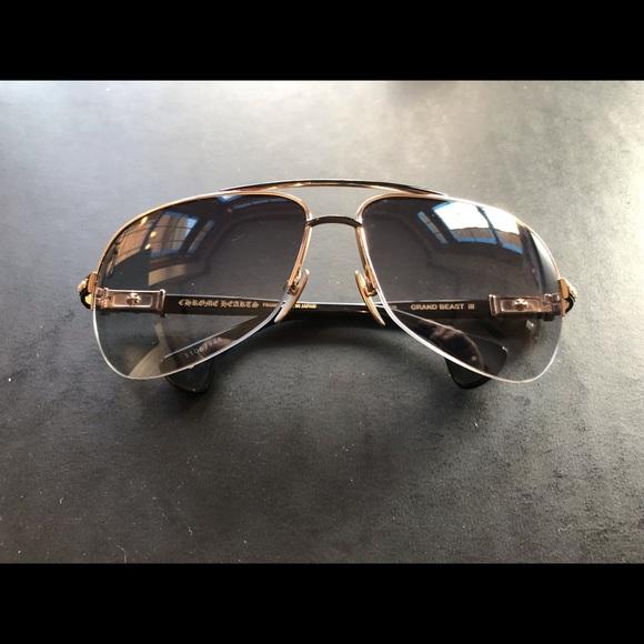 a158a4342bc Chrome Hearts Grand Beast III sunglasses